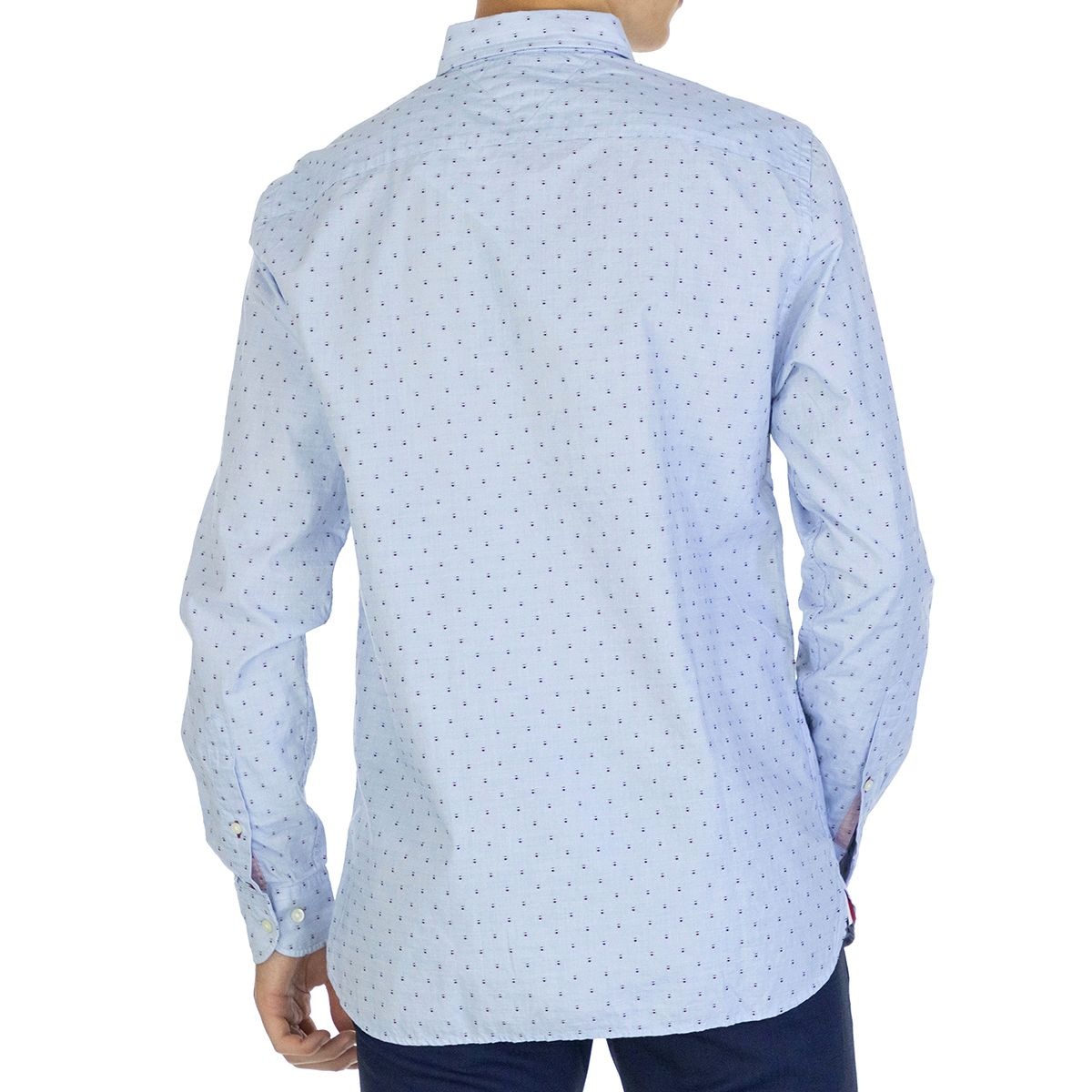Tommy Hilfiger Men Shirt   Full sleeve Blue