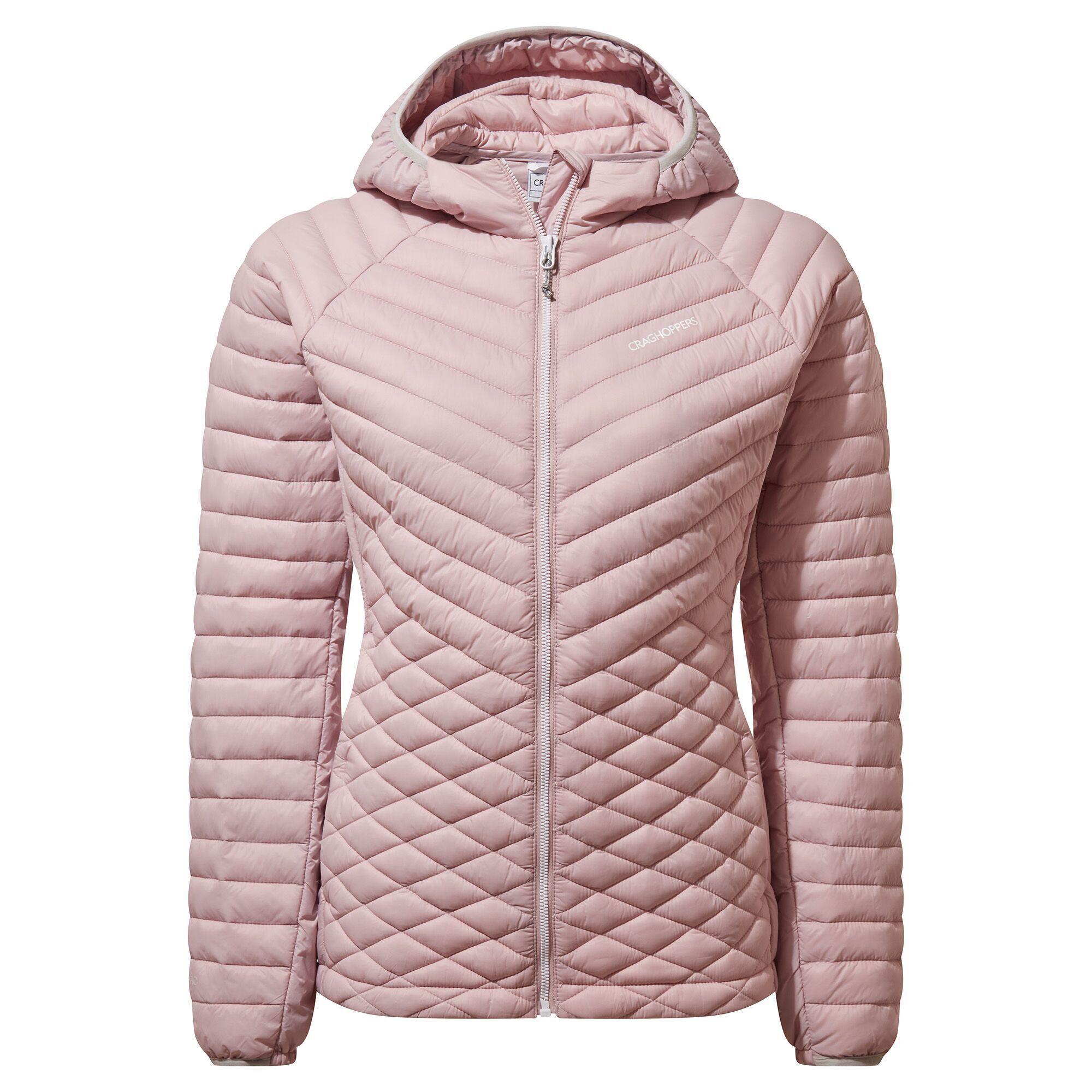 Craghoppers Womens/Ladies Expolite Hooded Jacket (Brushed Lilac)