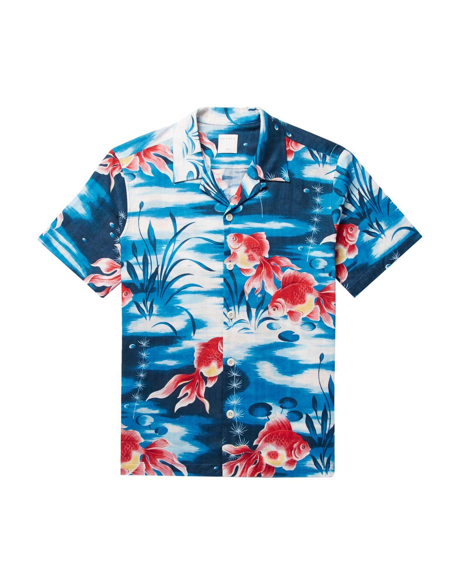 Sandro Man Shirts Cotton