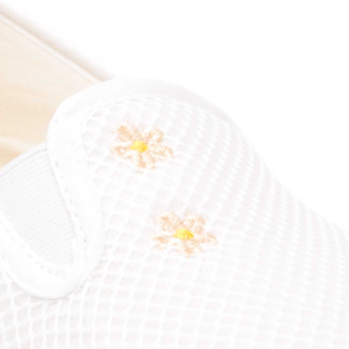 Montevita Comfortable Slipper in White
