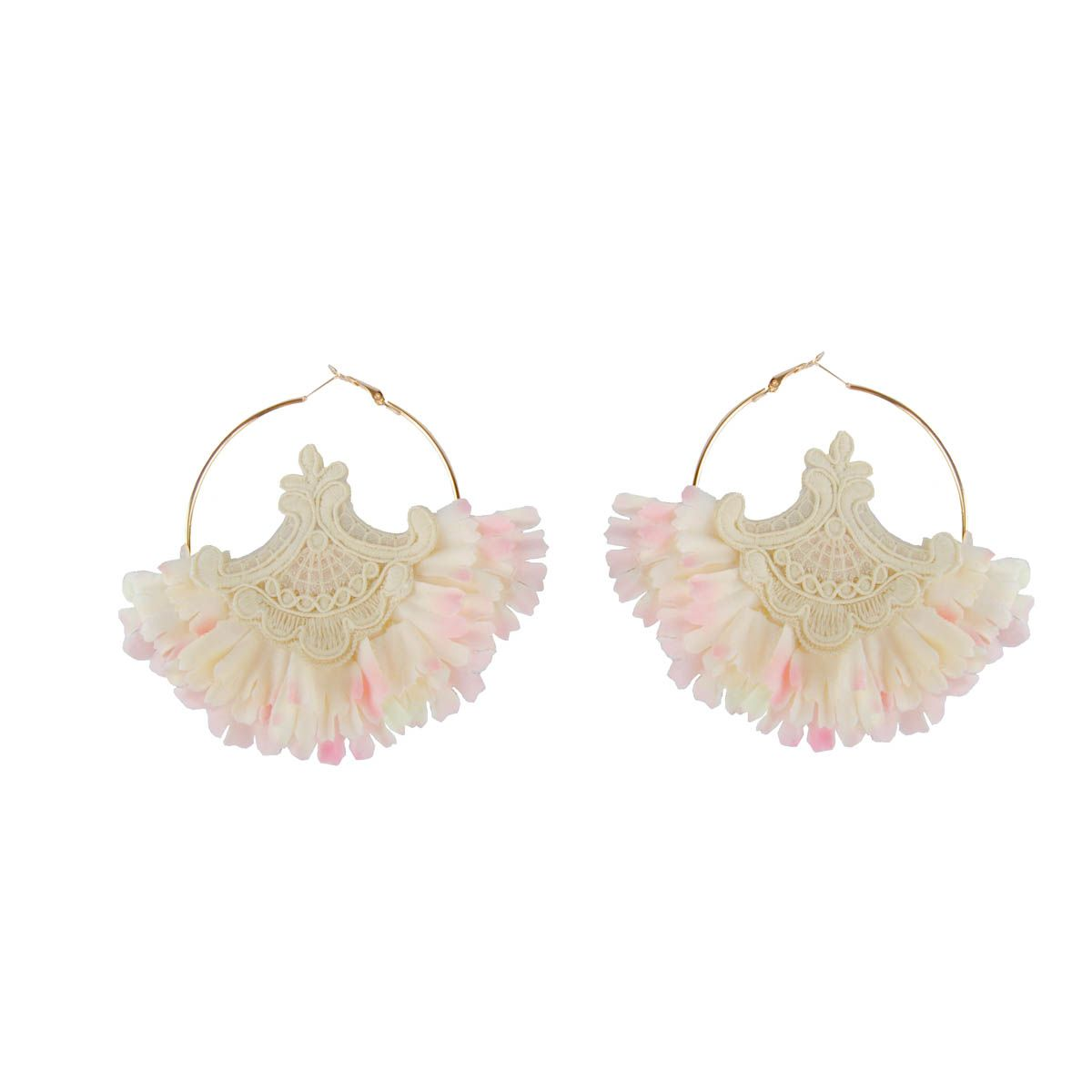 Maria Graor Hand Made Earring in Gold