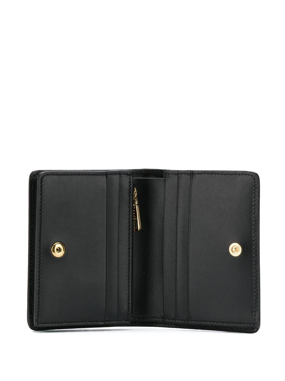 DOLCE E GABBANA WOMEN'S BI1211AX35580999 BLACK LEATHER WALLET