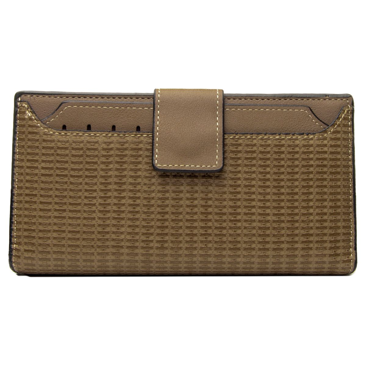 Montevita Leather Purse in Beige