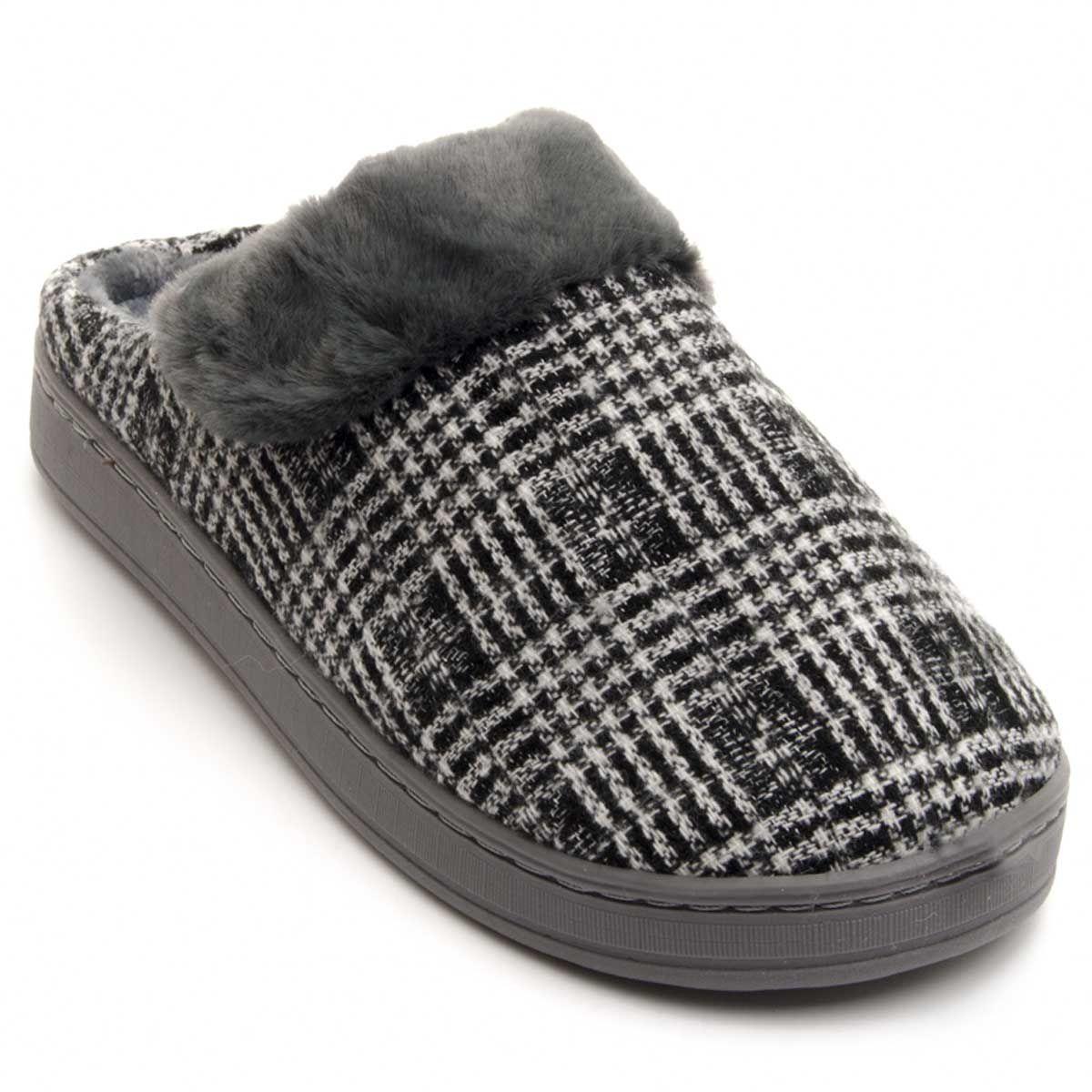 Montevita Comfortable Slipper in Grey