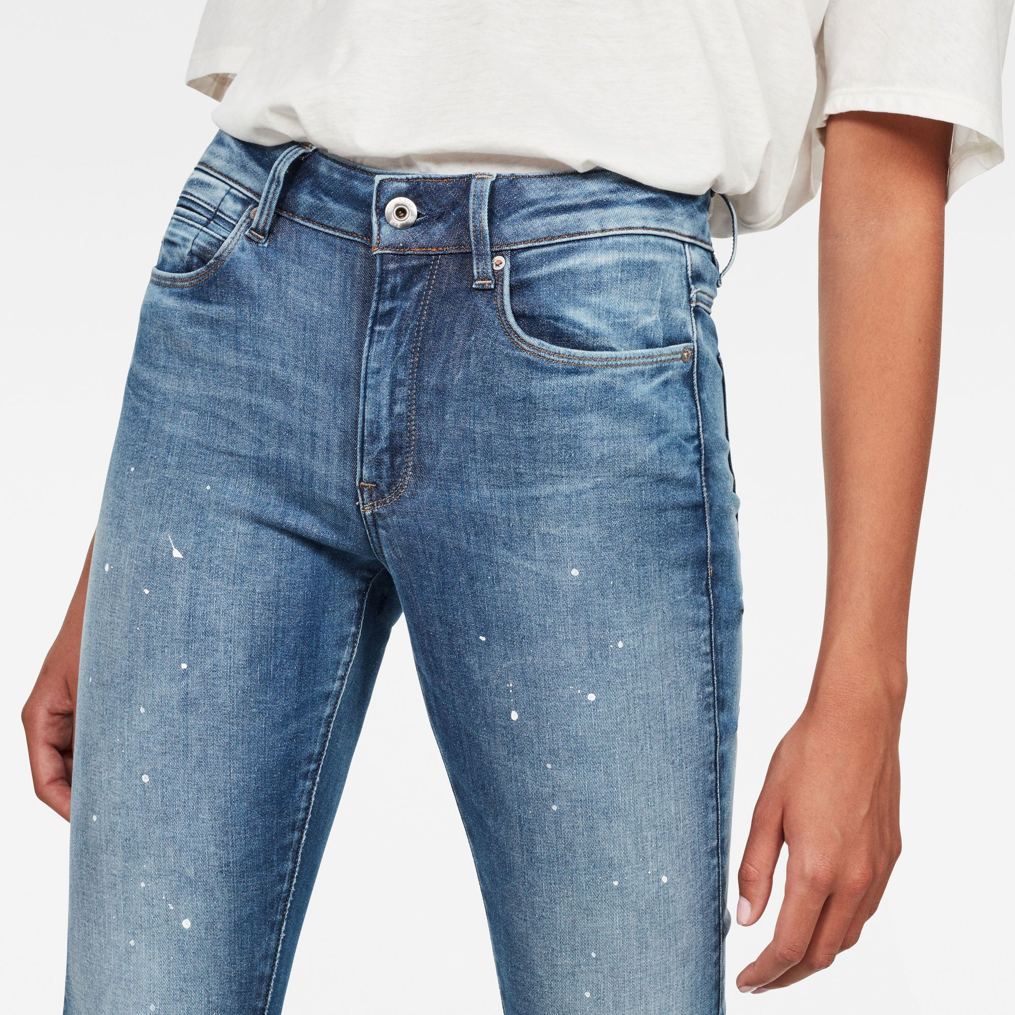 G-Star RAW G-Star Shape High Waist Super Skinny Jeans