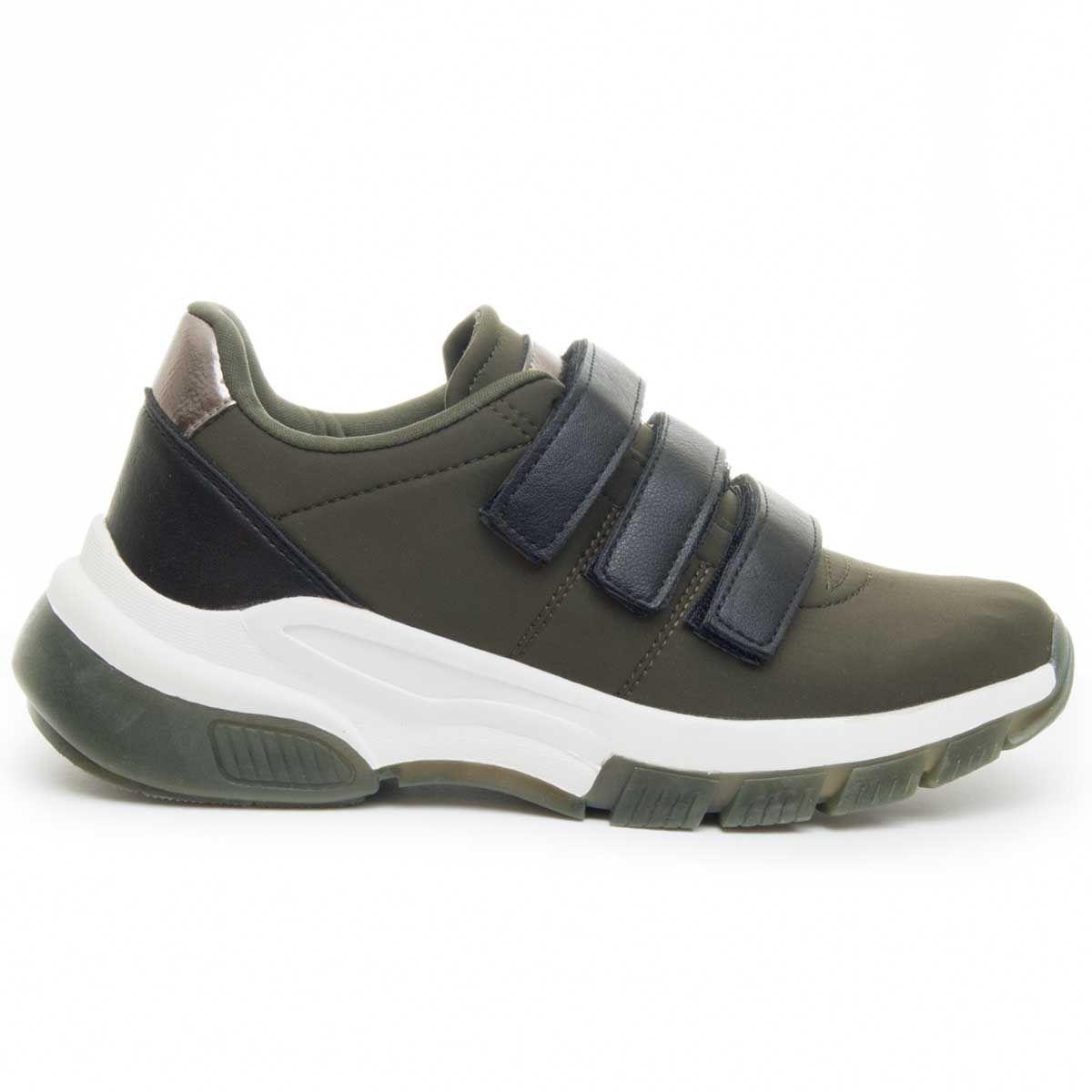 Montevita Sporty Sneaker in Green