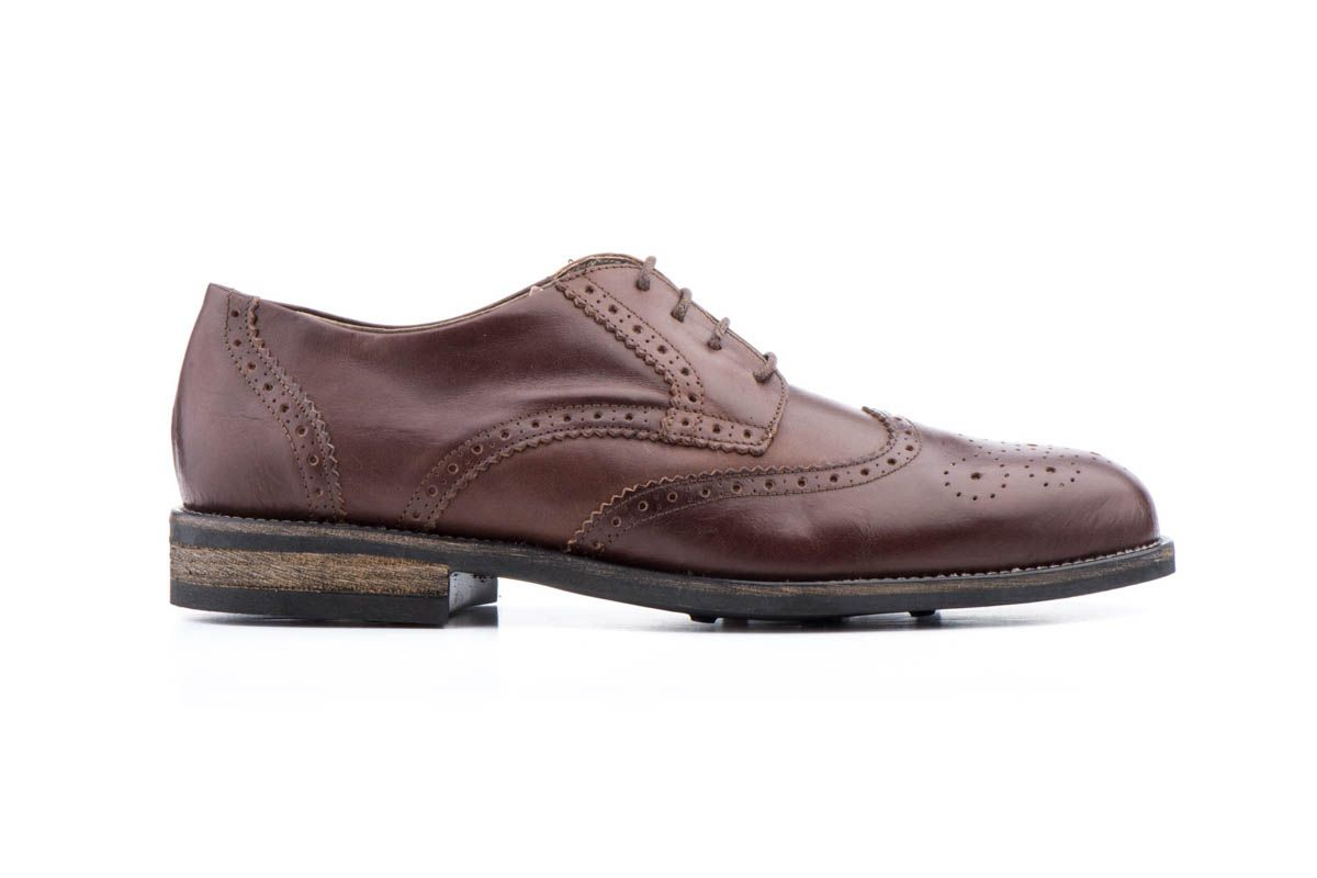 Purapiel Oxford Shoe in Brown