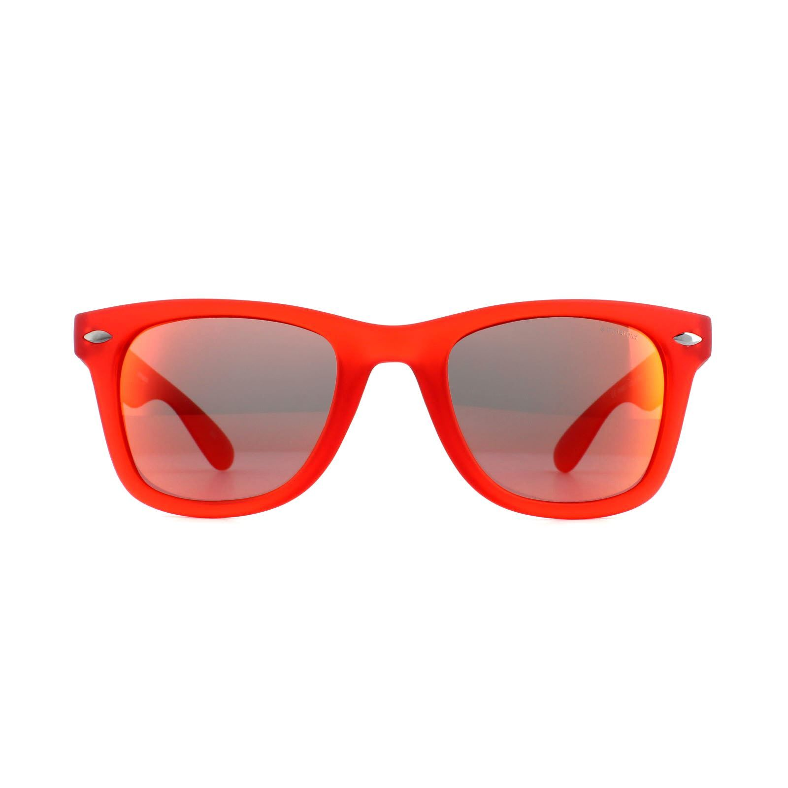 Polaroid Sunglasses PLD P8400 0Z3 Red Red Mirror Polarized