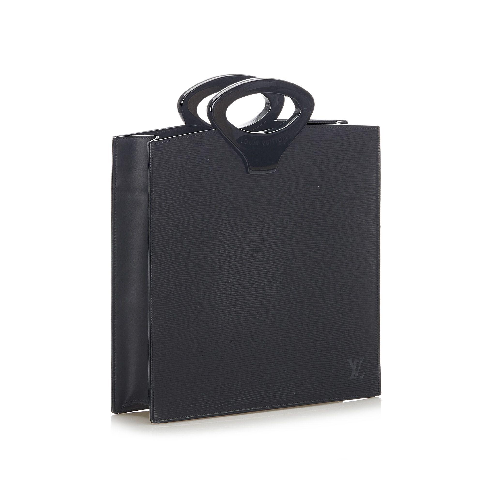 Vintage Louis Vuitton Epi Ombre Black