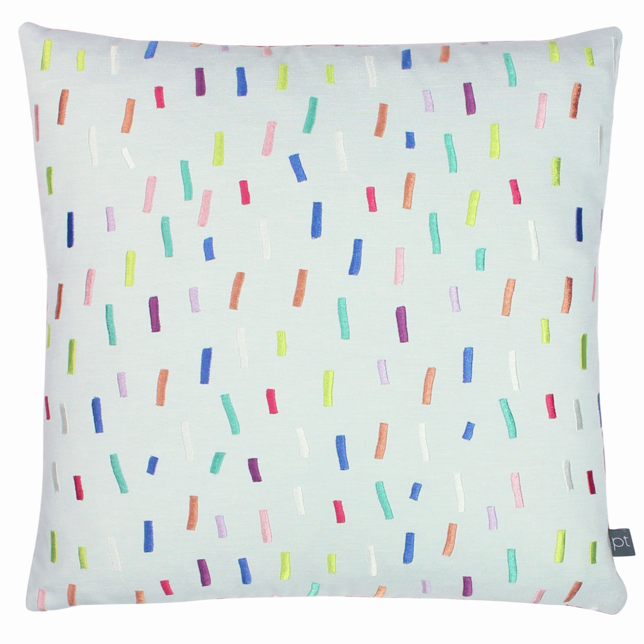 Prestigious Textiles Dolly Mixture Polyester Filled Cushion, Polyester, Cotton, Rainbow