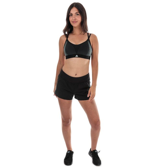 Women's adidas All Me Sports Bra in Black
