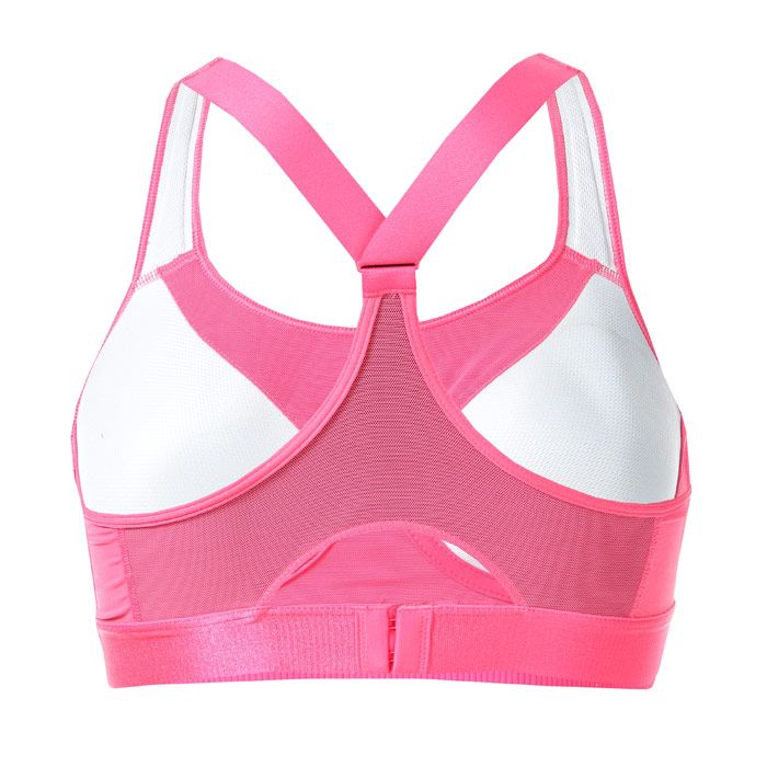 Women's adidas Stronger For It Racer Bra in Pink