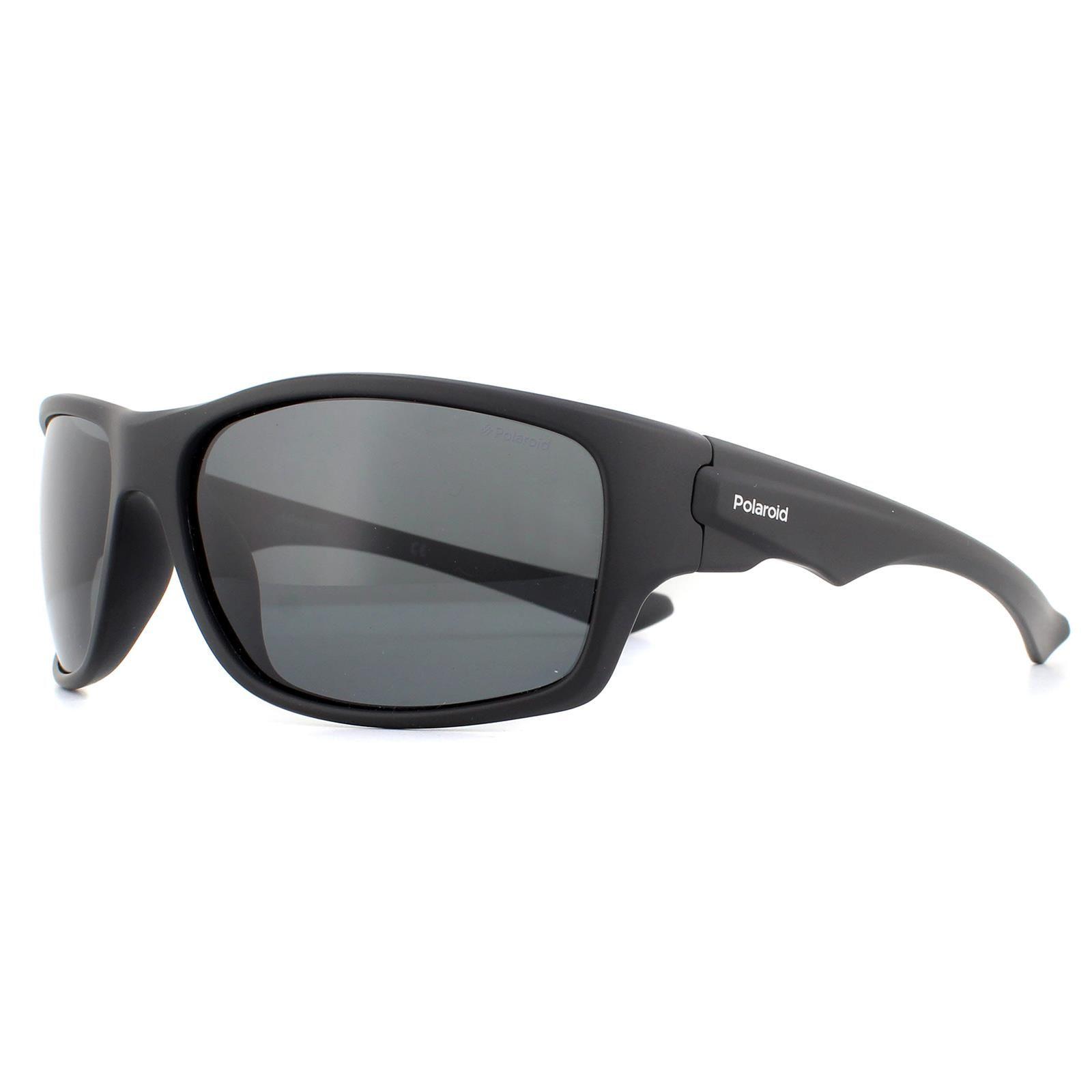 Polaroid Sunglasses PLD 7012/S 807 M9 Black Grey Polarized