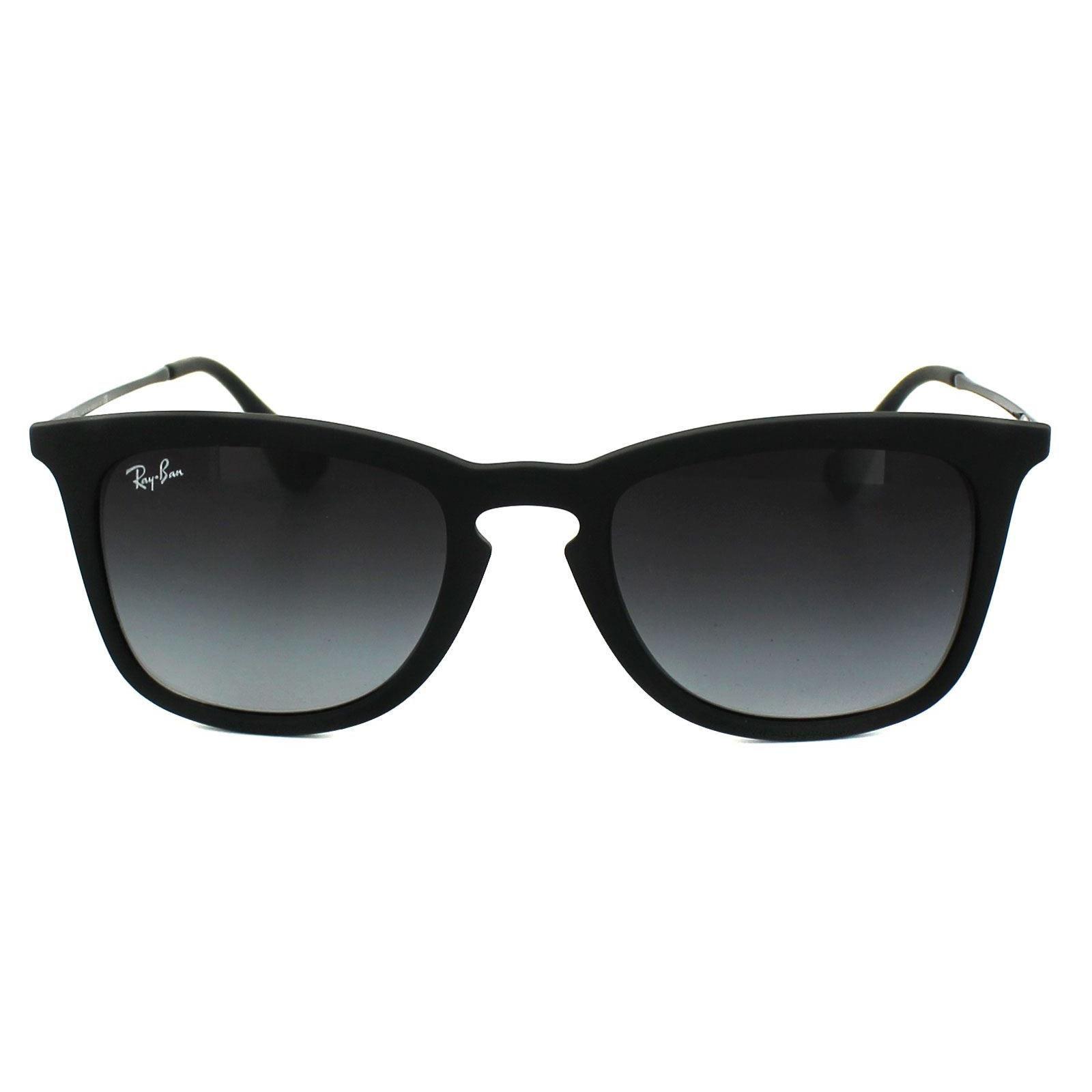 Ray-Ban Sunglasses 4221 622/8G Black Rubber Grey Gradient
