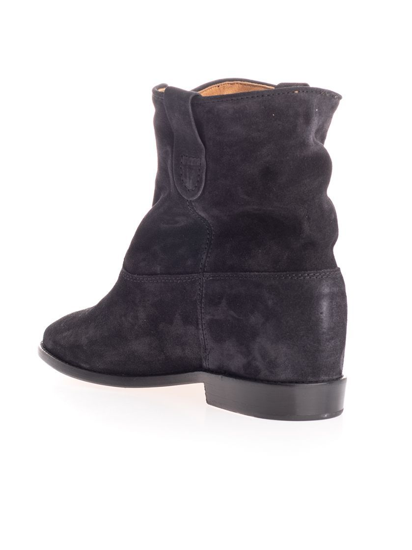 ISABEL MARANT ÉTOILE WOMEN'S 00MBO010300M103S02FK GREY SUEDE ANKLE BOOTS