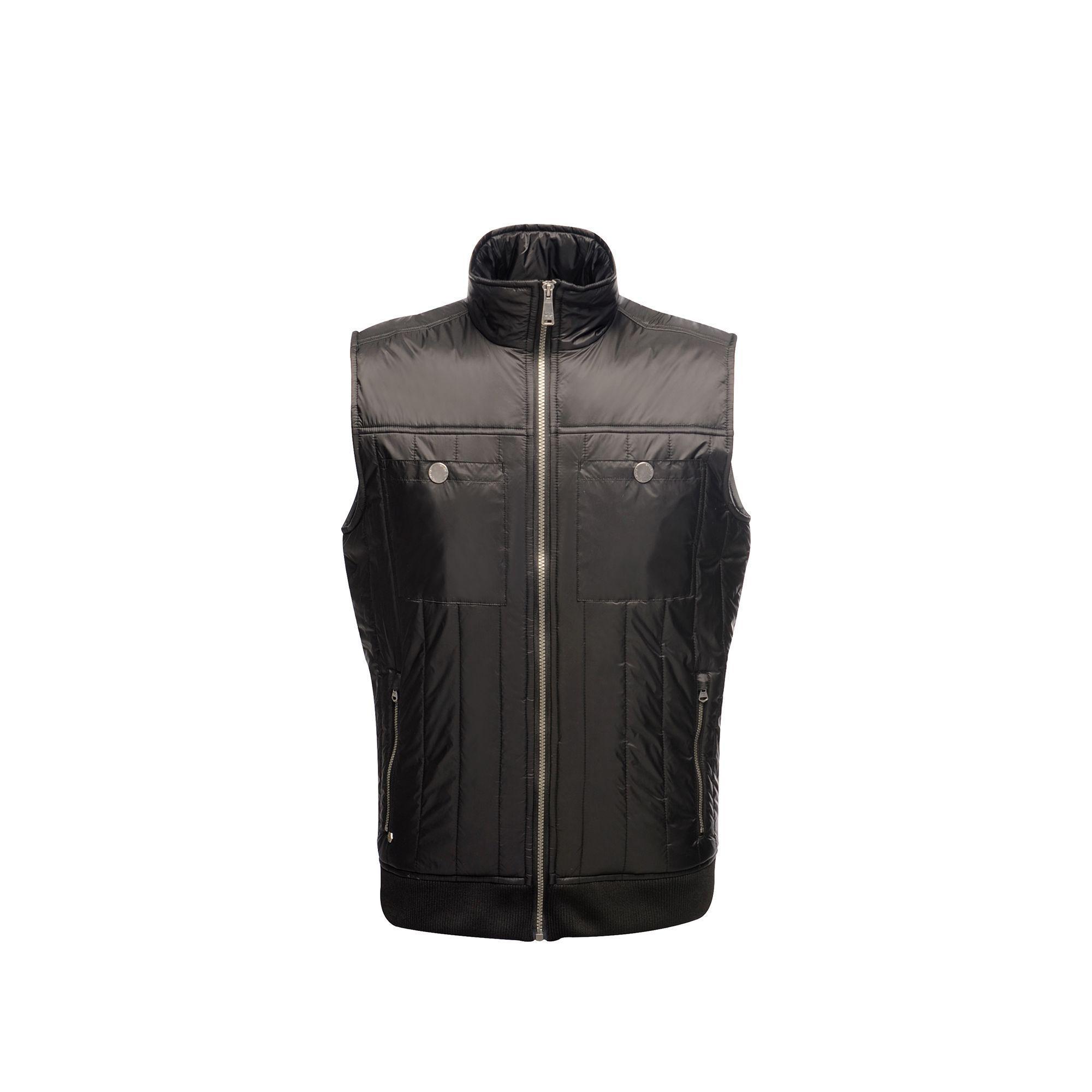 Regatta Mens Originals Longsight Lightweight Bodywarmer (Black)