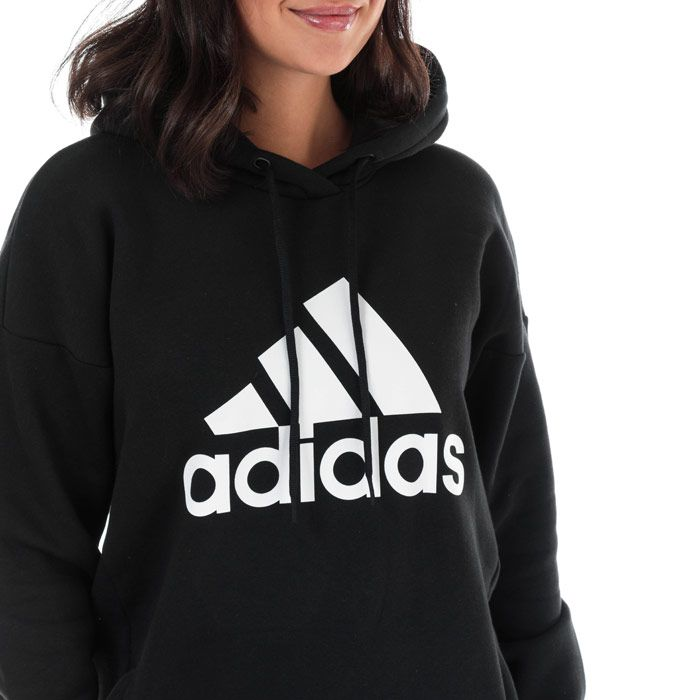 Women's adidas Must Haves BOS Logo Hoody in Black