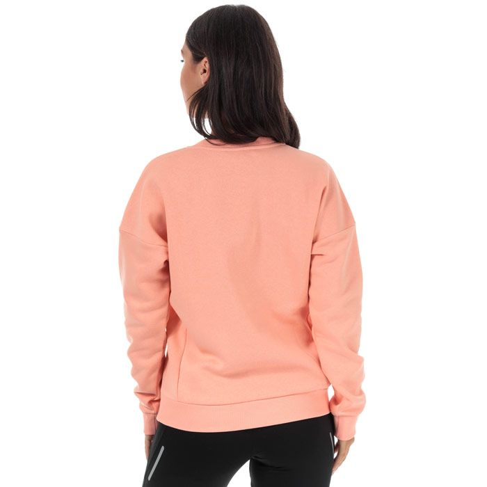 Women's adidas Must Haves BOS Crew Sweatshirt in Pink