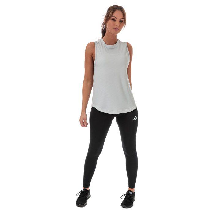 Women's adidas Performance Tank in Light Grey