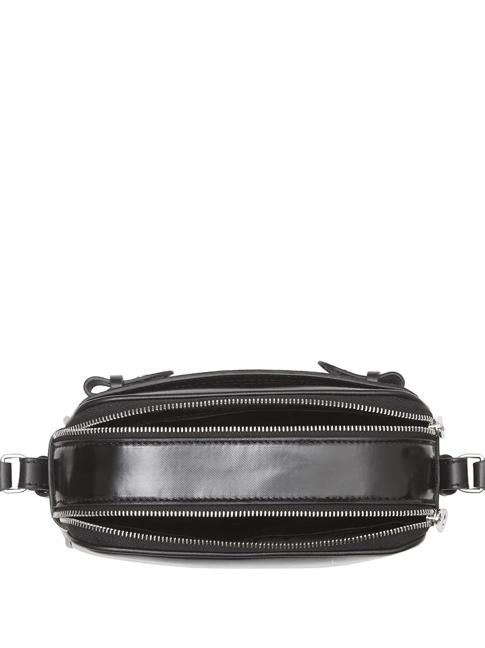 BURBERRY WOMEN'S 8022339 BLACK LEATHER SHOULDER BAG