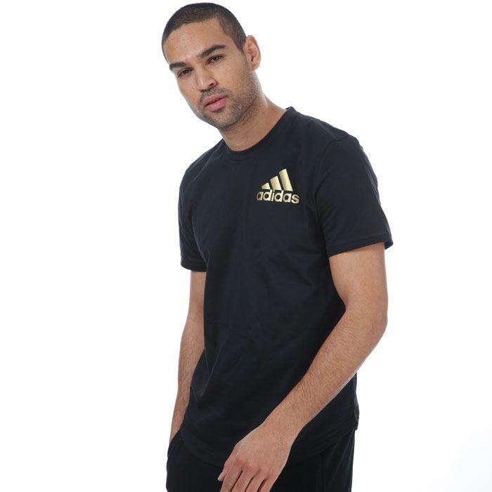 Men's adidas Sport ID T-Shirt in Black