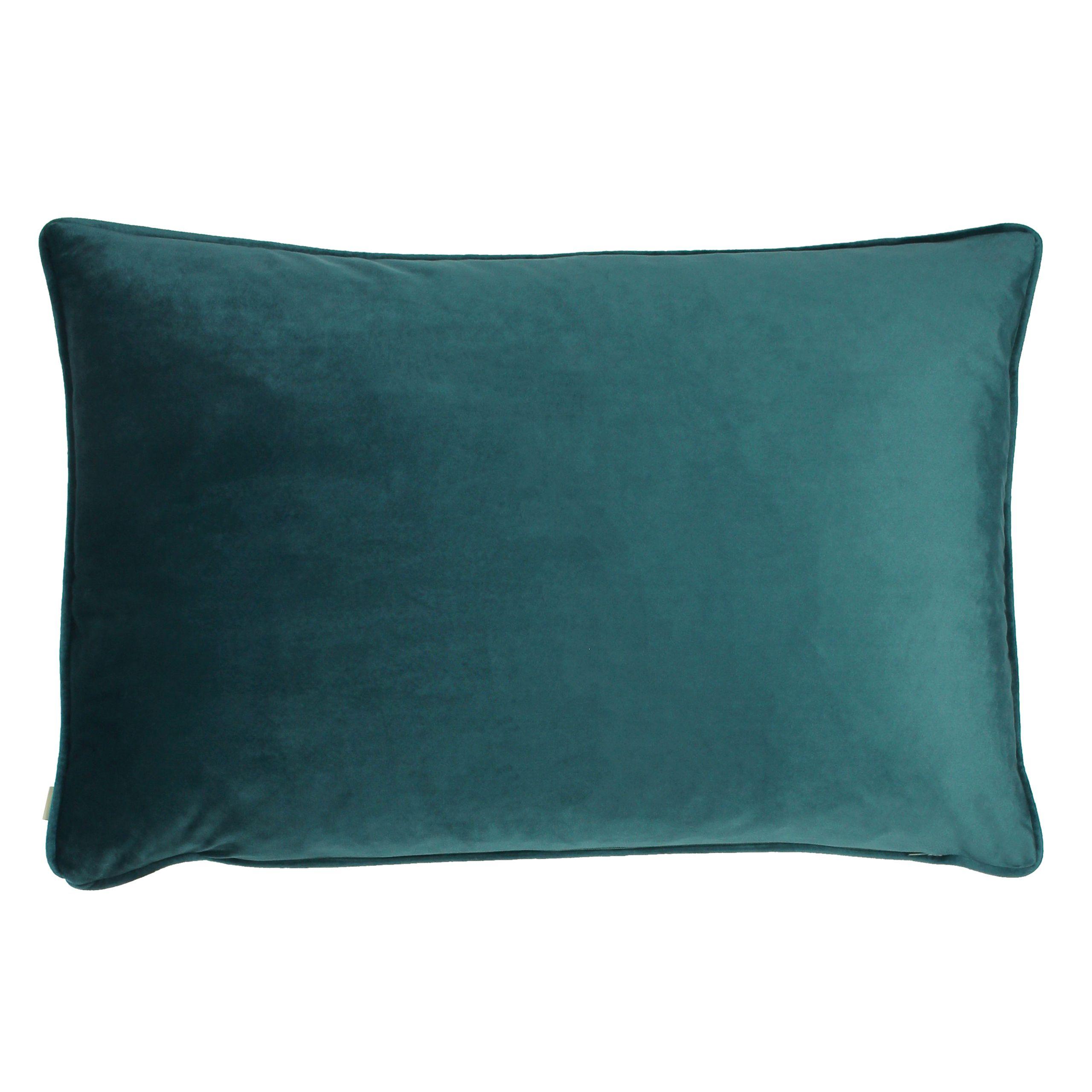 Midnight Garden Aquilegia Cushion