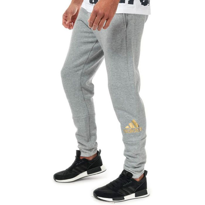 Men's adidas Originals Sport ID Track Pants in Grey