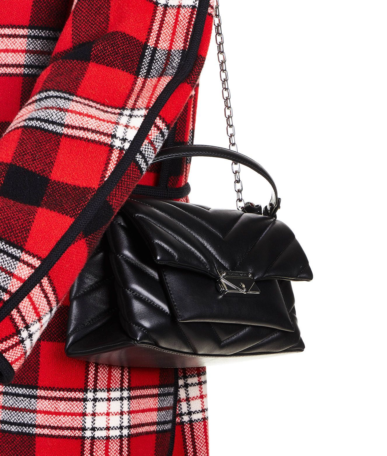 MICHAEL KORS WOMEN'S 30T9S0EL8L001 BLACK LEATHER SHOULDER BAG