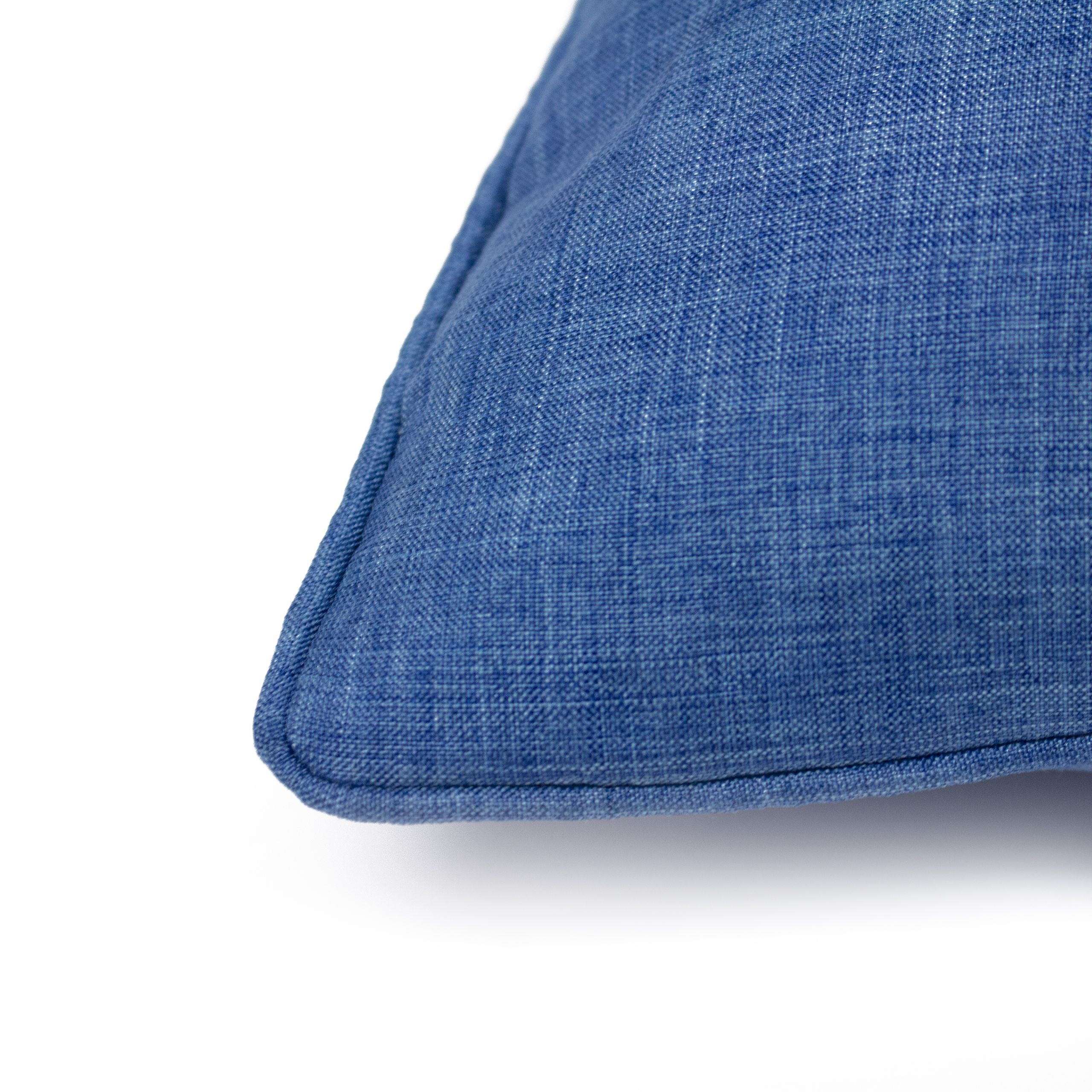 Eclipse 45X45 Poly Cushion Denim