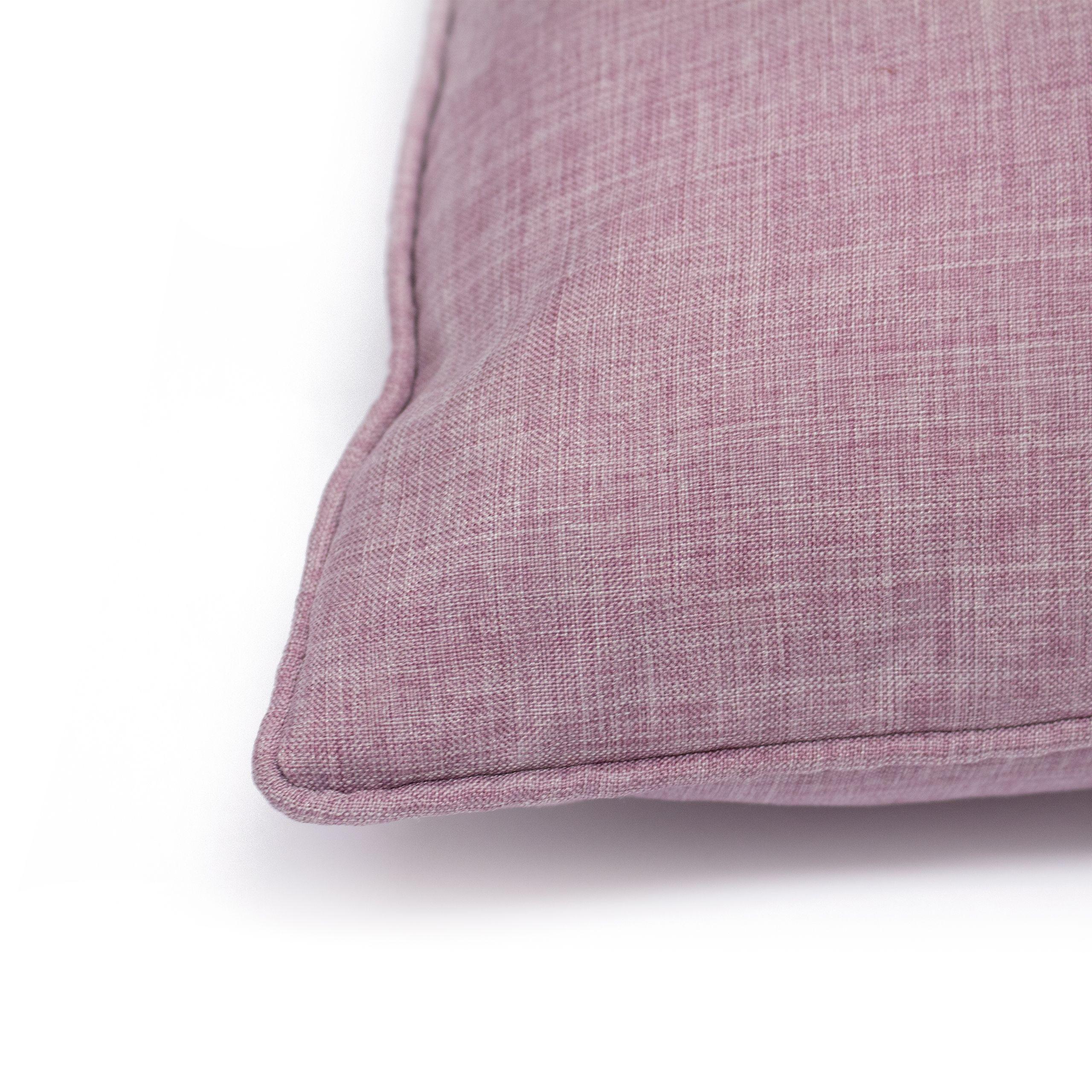 Eclipse 45X45 Poly Cushion Mauve