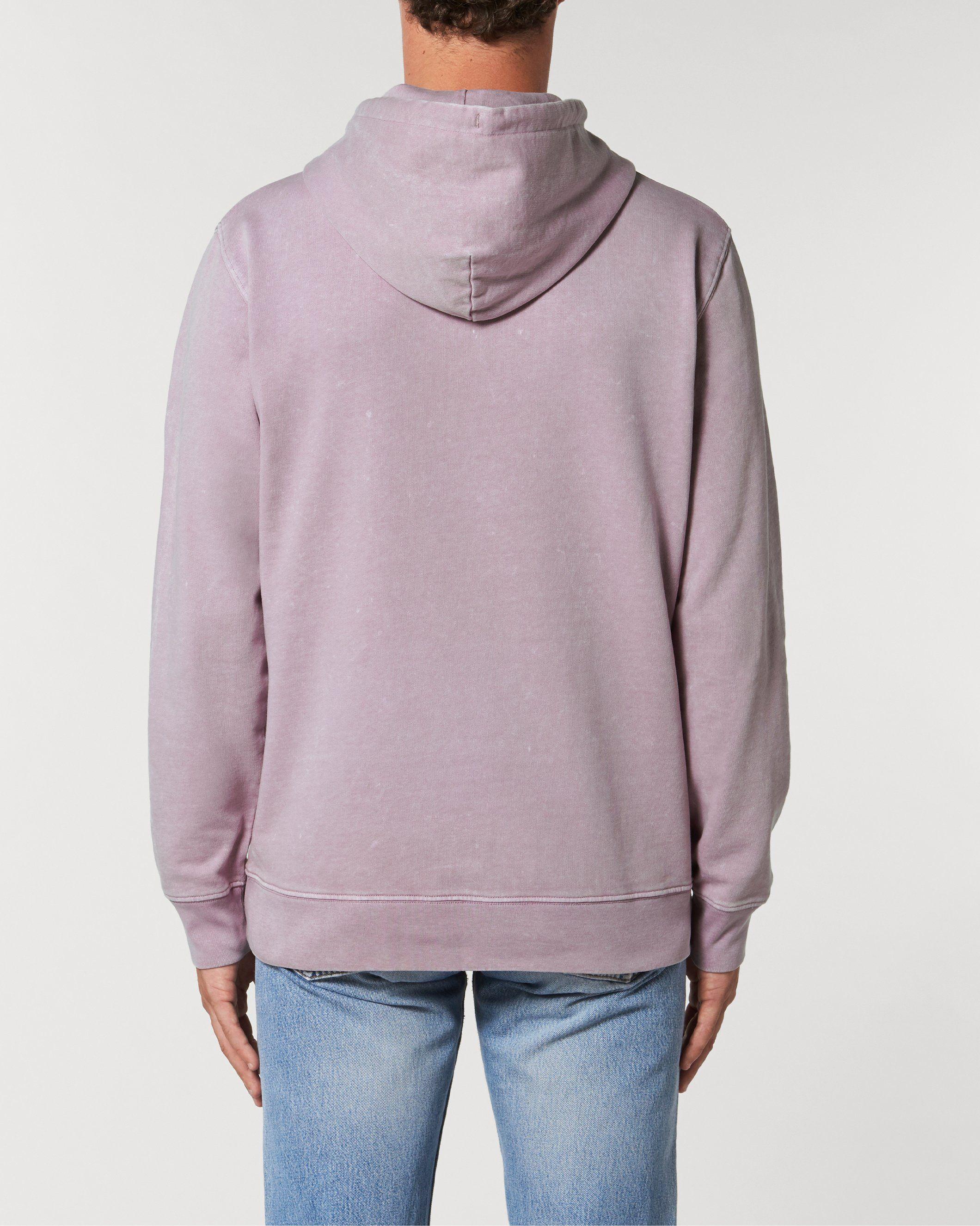 Mandala Unisex Vintage Hoodie Sweatshirt in Purple