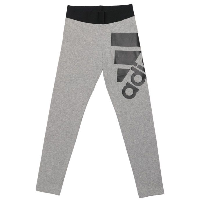 Girl's adidas Infant Must Have Leggings in Grey