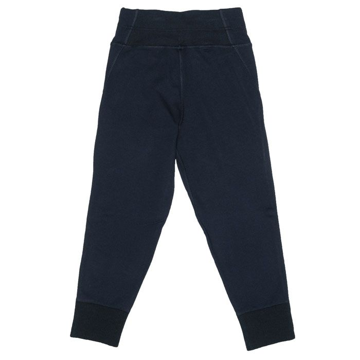 Girl's adidas Junior VRCT Tracksuit Bottoms in Navy