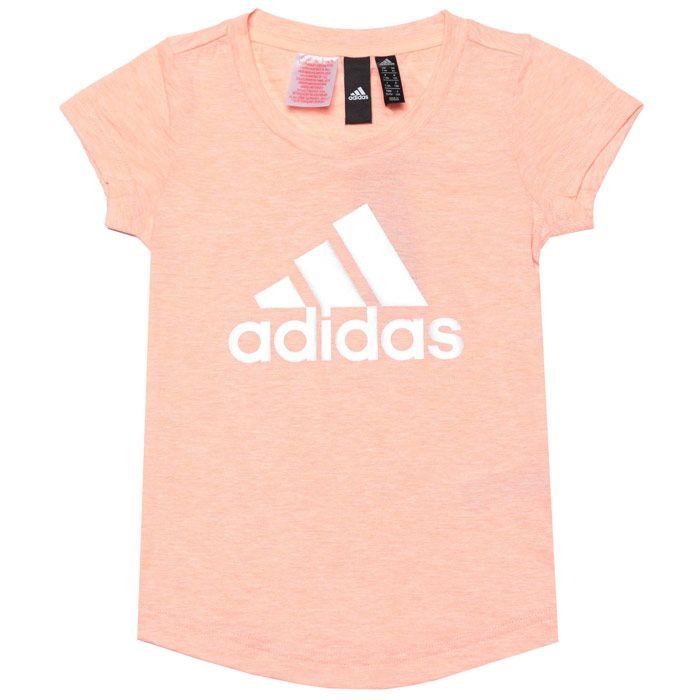 Girls' adidas Junior ID Winner T-Shirt in Pink
