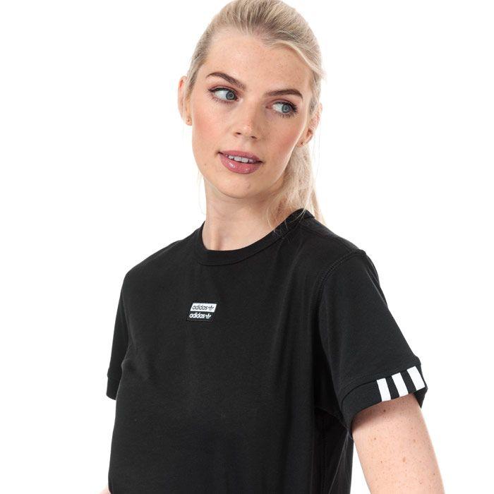 Women's adidas Originals T-Shirt in Black