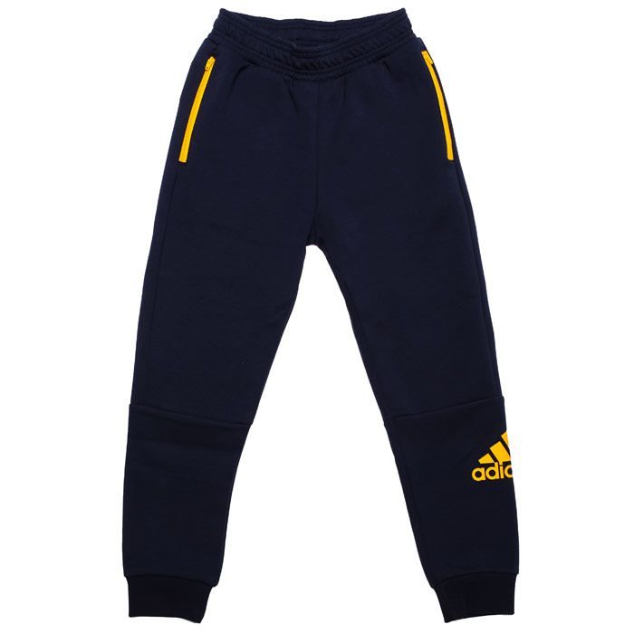 Boy's adidas Junior Sport ID Jog Pants in Navy