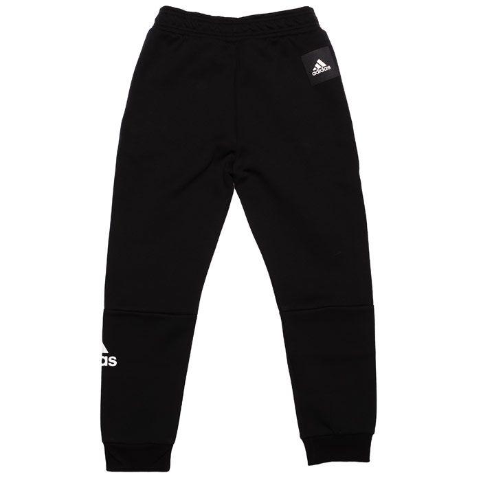 Boy's adidas Junior Sport ID Jog Pants in Black