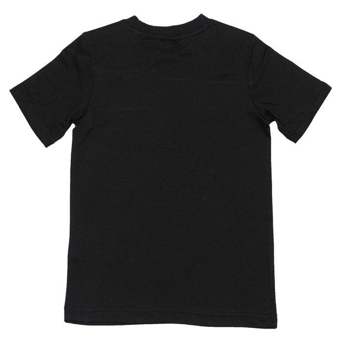 Boys' adidas Junior ID T-Shirt in Black-White