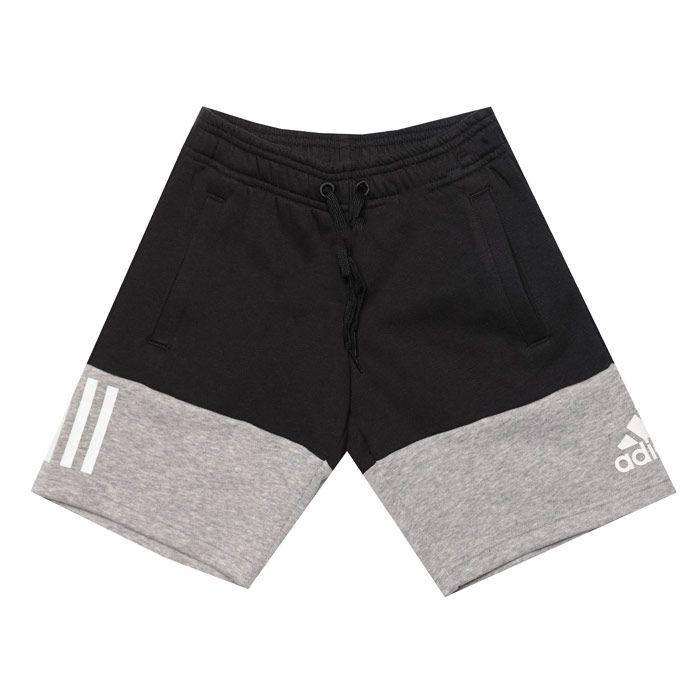 Boy's adidas Junior Sport ID Shorts in Black