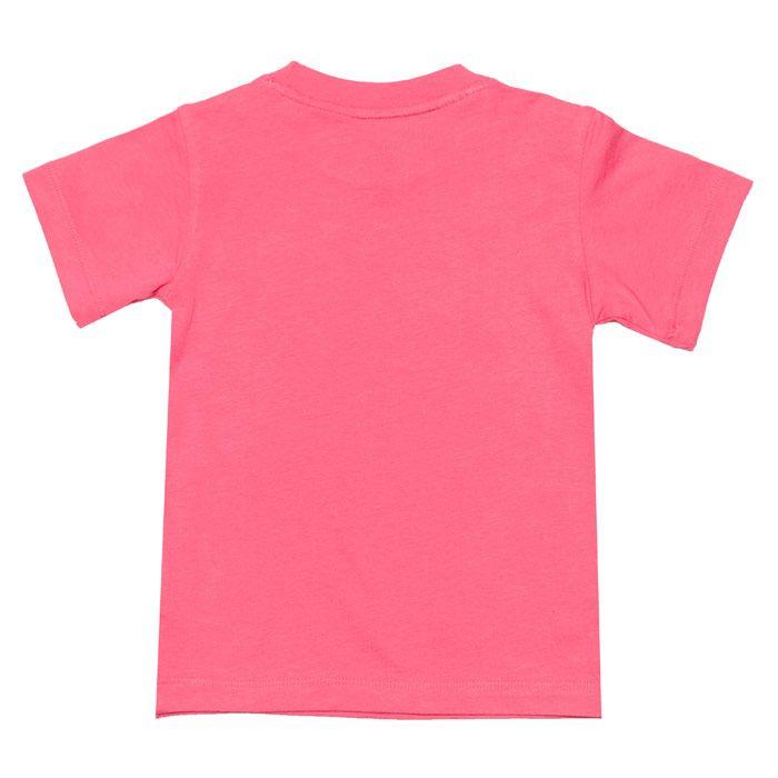 Adidas Originals Baby Girl Trefoil T-Shirt Pink