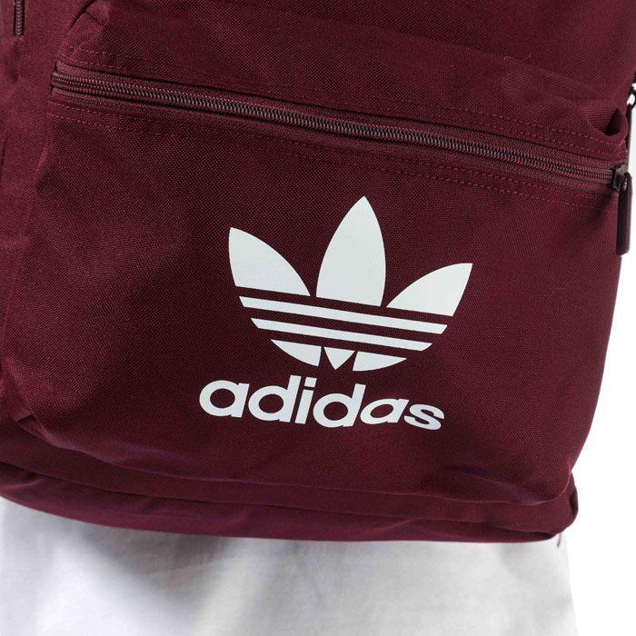 adidas Originals Adicolor Classic Backpack in Burgundy