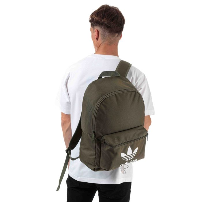adidas Originals Adicolor Classic Backpack in Khaki