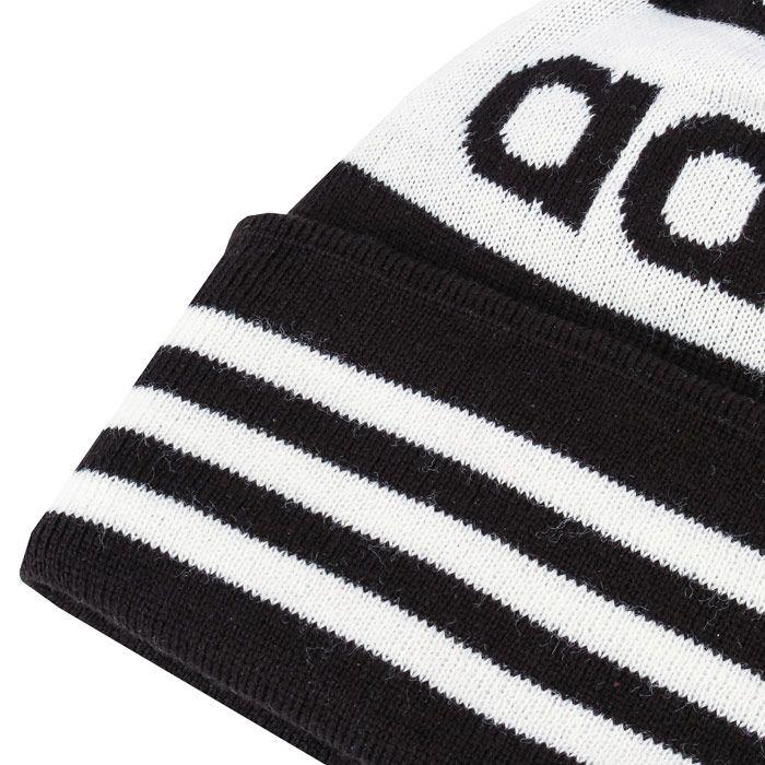 adidas Originals Adicolor Pompom Beanie in Black