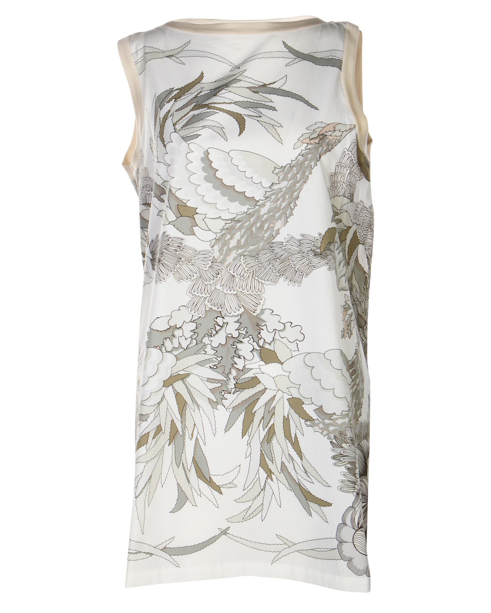 Hermès Printed Beige Dress -Pre Owned Condition Very Good