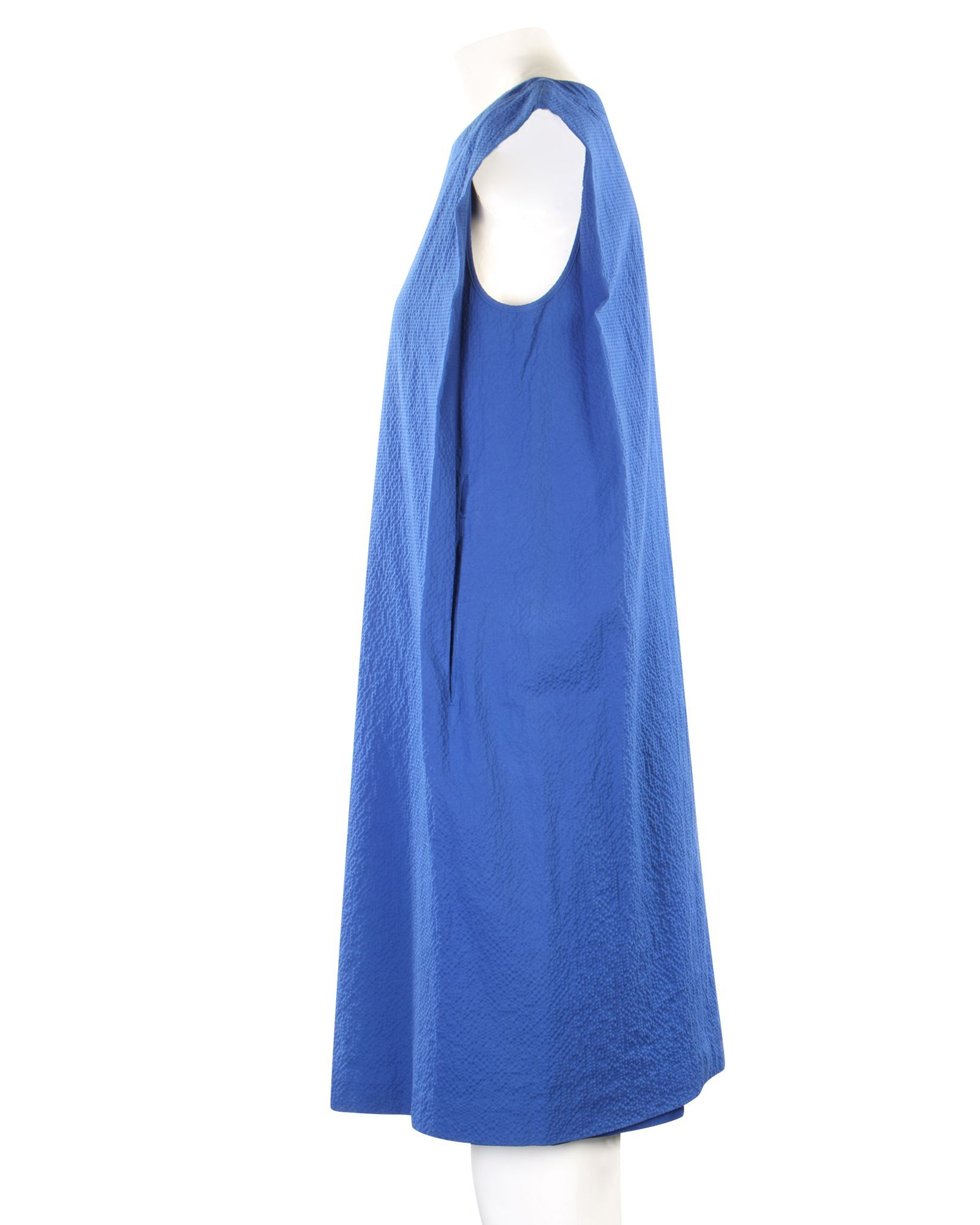 Hermès Blue Shift Dress -Pre Owned Condition Good