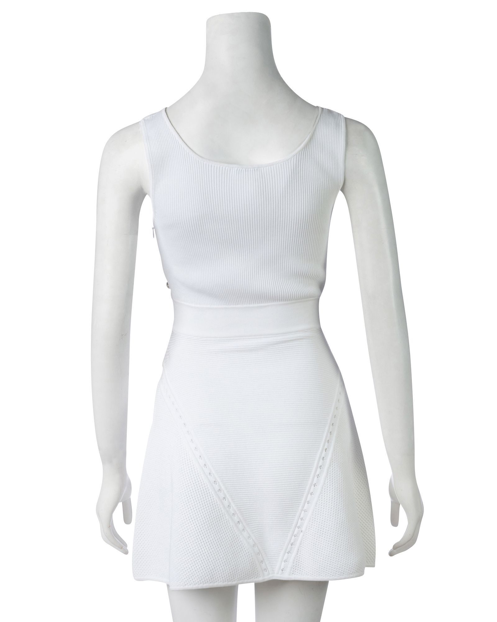Chanel Dropped Waist Knit Dress -Pre Owned Condition Good