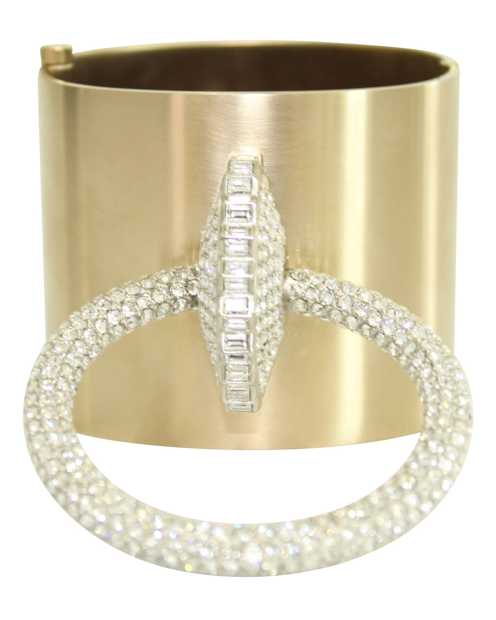 Chanel Crystal Bangle -Pre Owned Condition Excellent