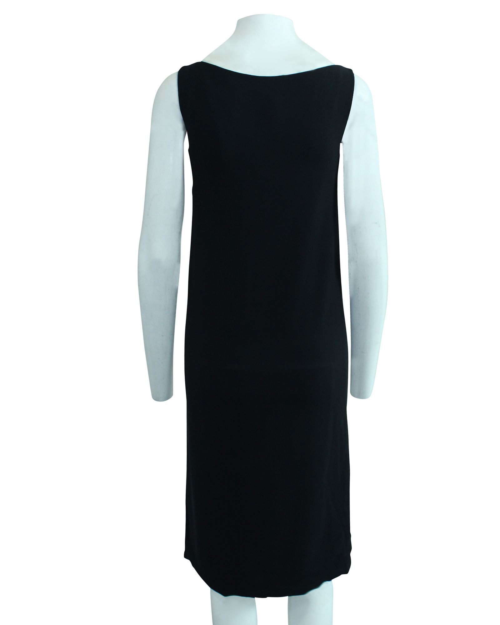 Hermès Black Shift Dress -Pre Owned Condition Very Good