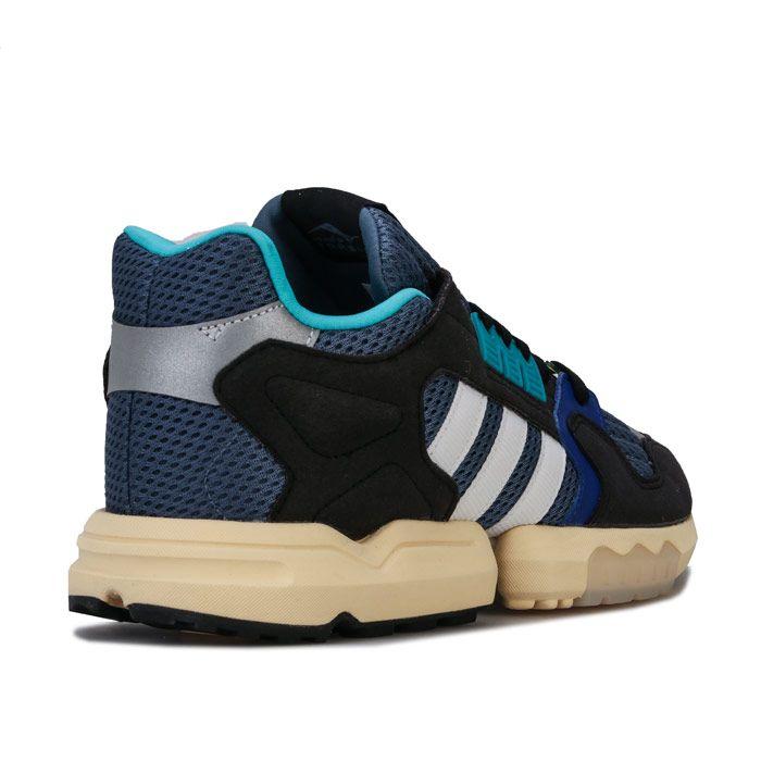 Men's adidas Originals ZX Torsion Trainers in Blue-White