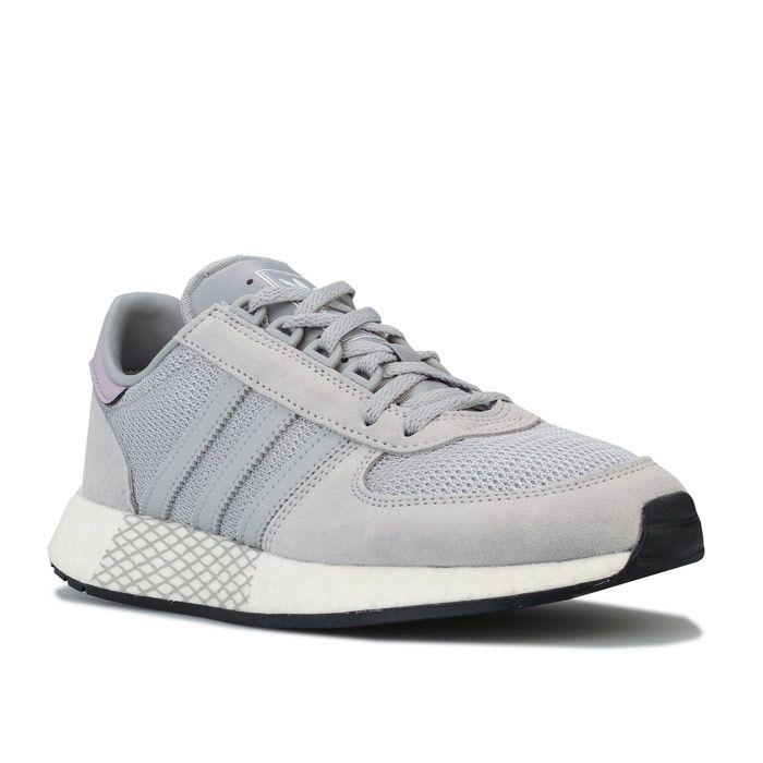 Women's adidas Originals Marathon Tech Trainers in Grey